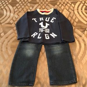 Other - Toddler True Religion Outfit